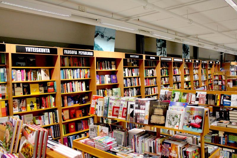 Uusi Kirjakauppa Riihimäki